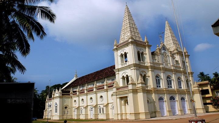 Santa Cruz Basilica, Fort Kochi, Ernakulam, Kerala Tourism, India