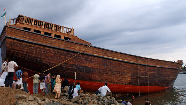 Beypore Uru - the traditional Arabian Trading Vessel
