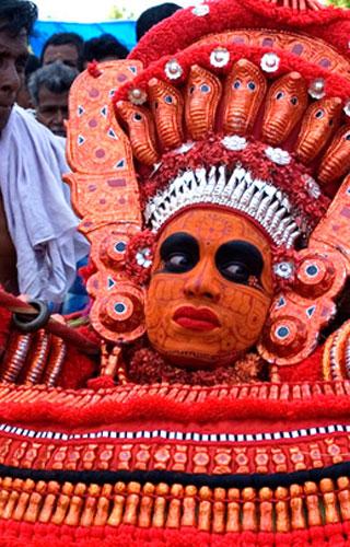 Kuttikkol Thampuratty Theyyam