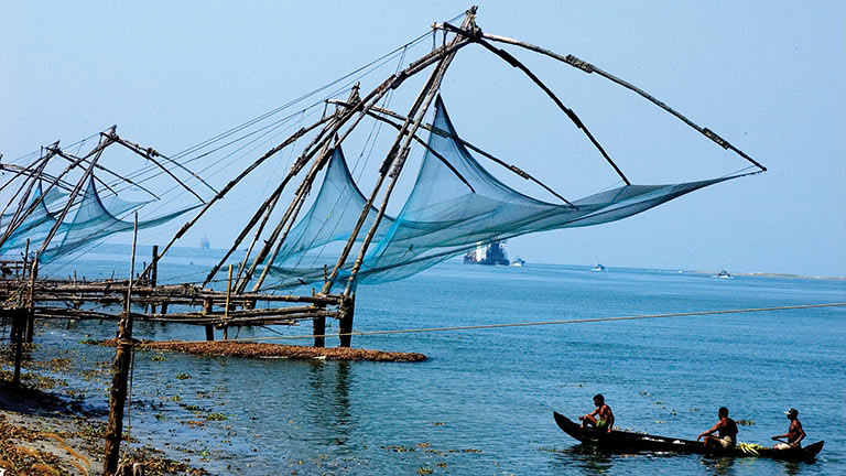 Chinese Fishing Nets @ Kochi!