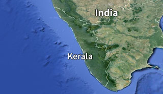 How to reach Kerala