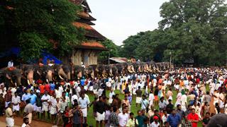 आनयूट्टु – वटकुमनाथन मंदिर -1