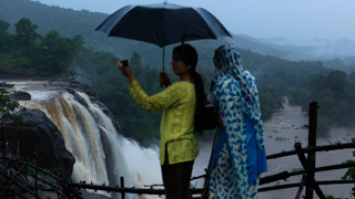 Athirapally falls, Thrissur
