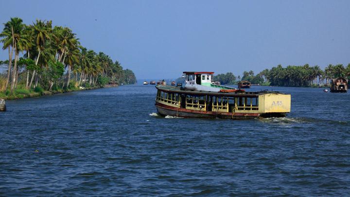 Crucero por el canal