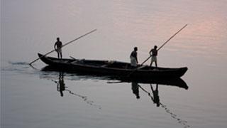 Bateau de campagne dans le lac Ashtamudi, Kollam