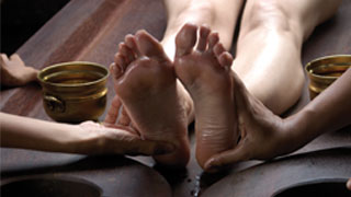 Foot Massage in Ayurveda
