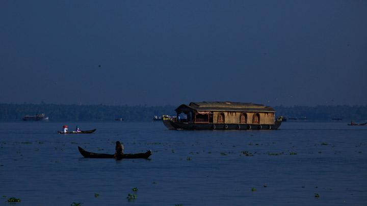 Casas flotantes de Kottayam 1