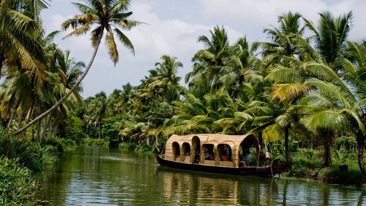 Casas flotantes de Kottayam 2