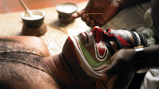 Make up - Kathakali Artiste