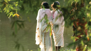 Native women of Kuruva Island, Wayanad