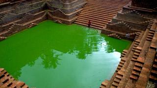 Estanque de Templo Peralassery Subramania