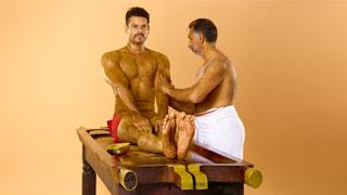 Udwartana, une thérapie ayurvédique