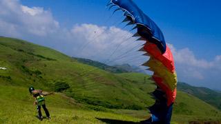 Wagamon, Paragliding - 3