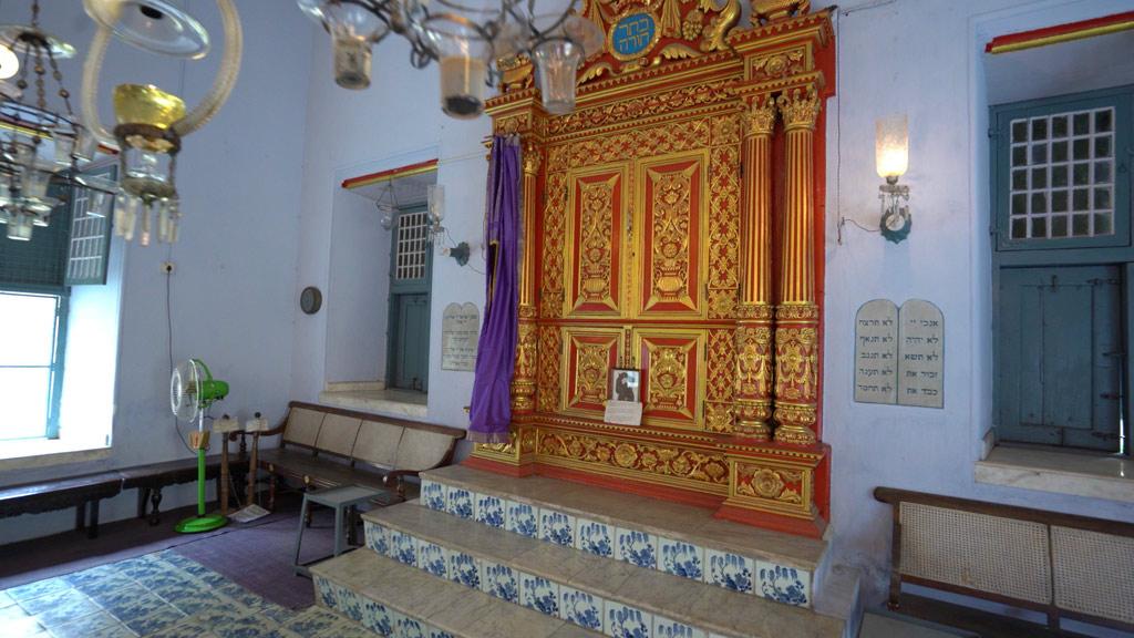 Jewish Ark at Paradesi Synagogue