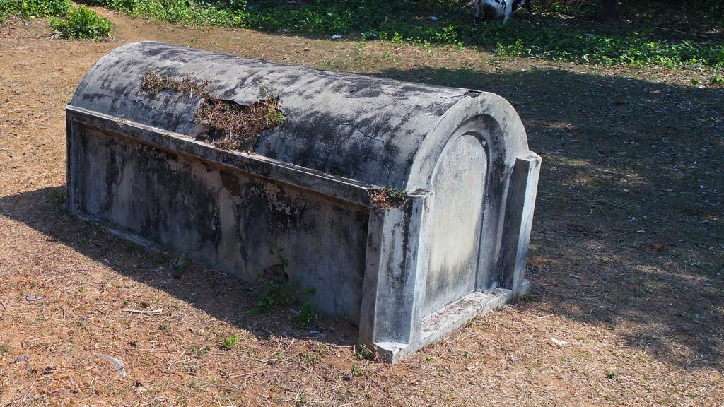 A Tomb at Jewish Cemetery, Mala