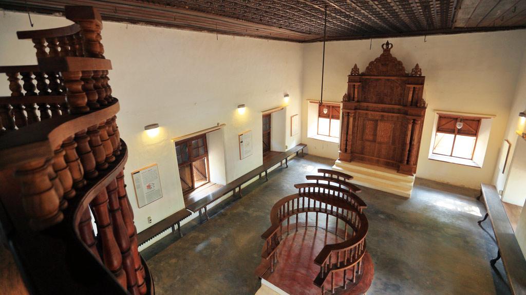 Double Bema, Paravur Synagogue