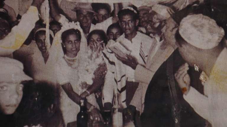 A Kerala Jewish wedding photograph