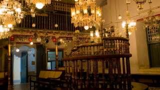 Interior of Paradesi Synagogue, Mattancherry