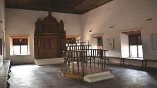 Interior view of Paravur Synagogue