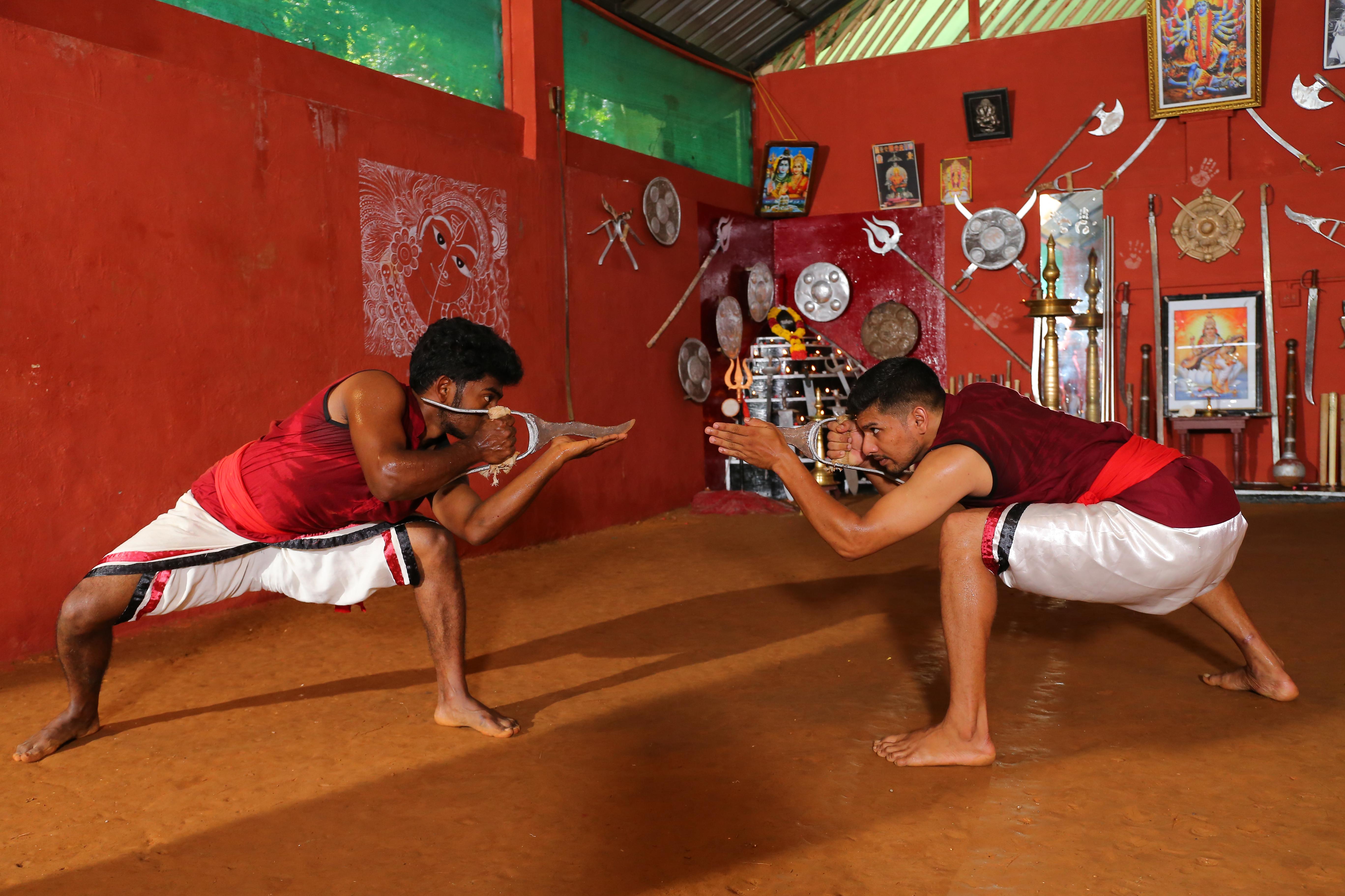 Kataara Payattu or Dagger Fight