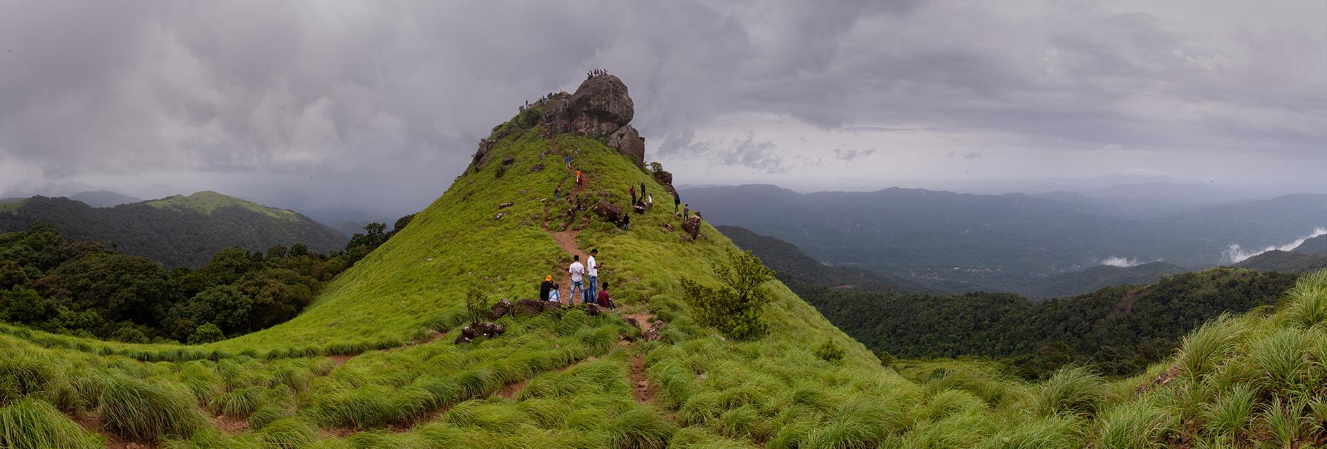 Las colinas de Ranipuram
