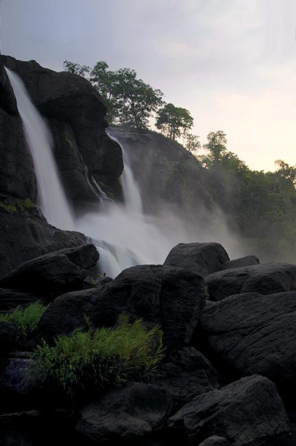 Chutes d'Athirapally et Vazhachal à Thrissur