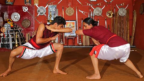 Kalaripayattu - la forme d'art martial