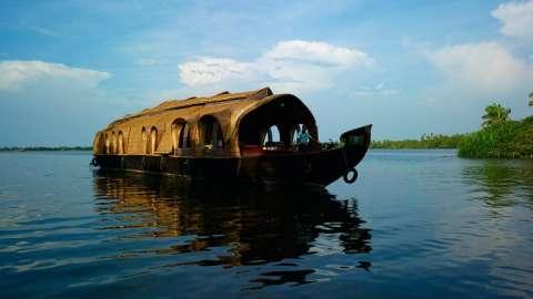 ¡Crucero por Kerala en una casa flotante!