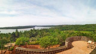 View from Chandragiri Fort, Kasaragod