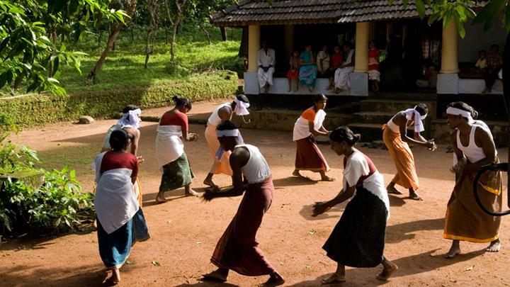 Chavittikali - a folk art form