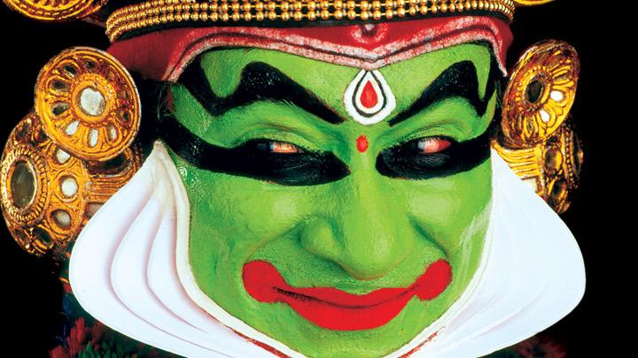 Pacha, The Gentle Kathakali Character