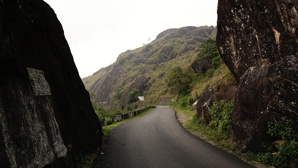 Gap Road in Munnar