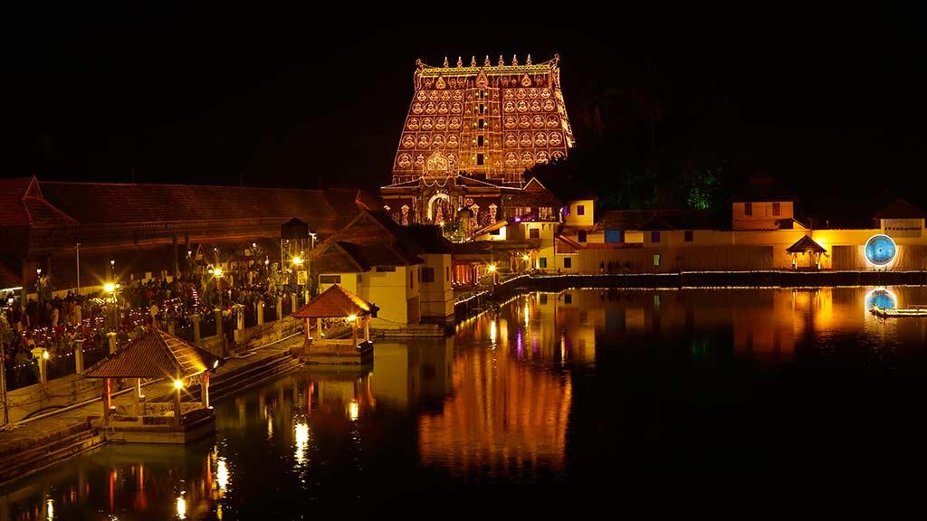 Lakshadeepam at Sree Padamanabhaswamy Temple
