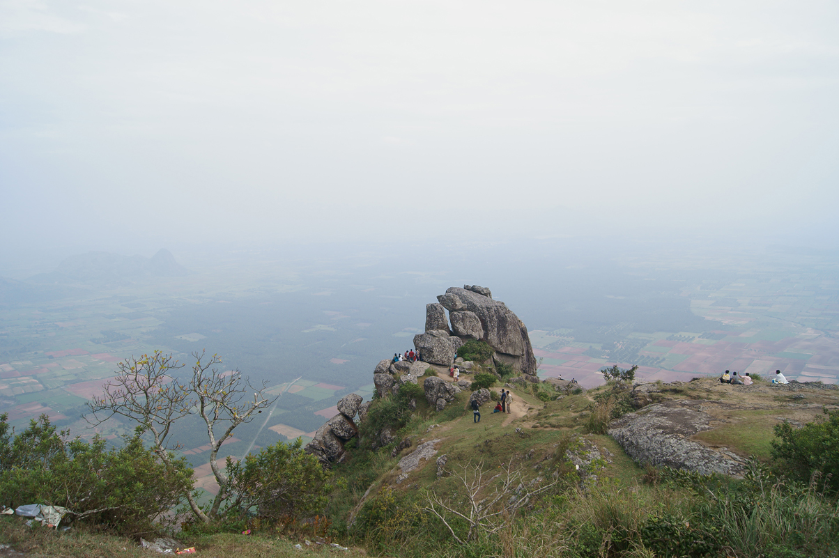 Panoramic view of Ramakkalmedu