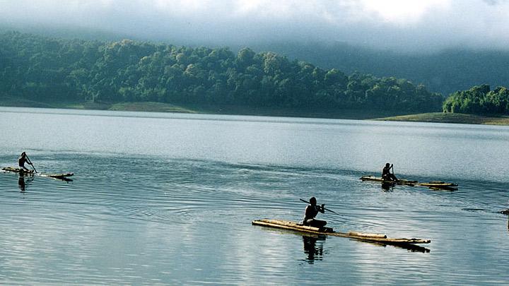 Parambikulam Lake in Palakkad