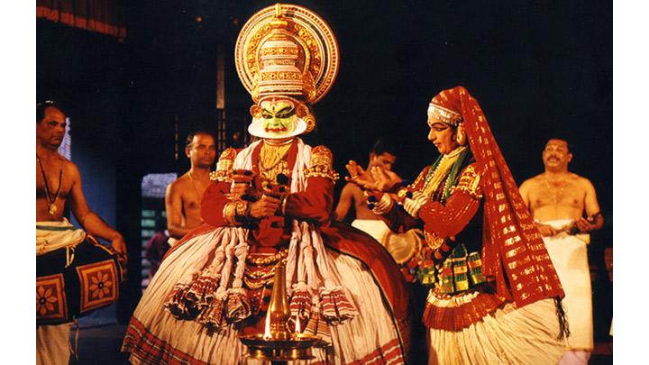Rugmangada charitham Kathakali Play