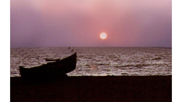 Sunset at Veli, Thiruvananthapuram