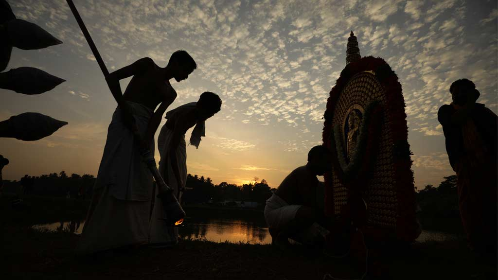 Triprayar Thevar and the Arattupuzha Pooram