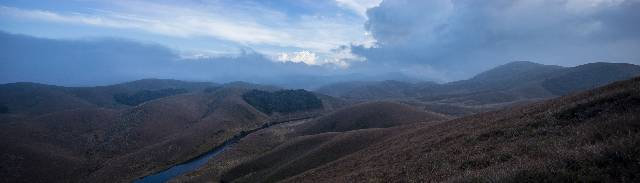 Panoramic view of Eravikulam valley