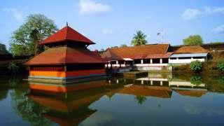 Храм на озере Анантапура, Касарагод
