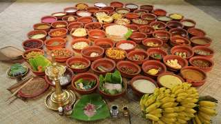 Aranmula Vallasadya dishes