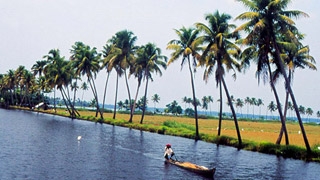 Backwater Stretches of Kerala