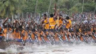سباقات القوارب في ولاية كيرالا