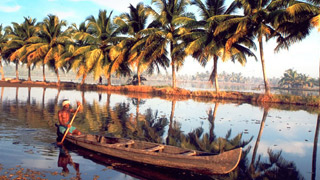 Early morning sights on the backwater stretches of Kerala