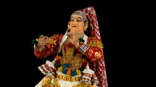 Kathakali Female Character Make-up