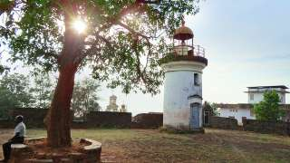 Lighthouse inside Thalassery Fort