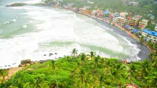 Monsoon at Kovalam