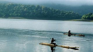 Lago Parambikulam en Palakkad