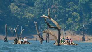 Periyar boating, Thekkady