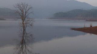 Placid crystal clear waters of Banasura